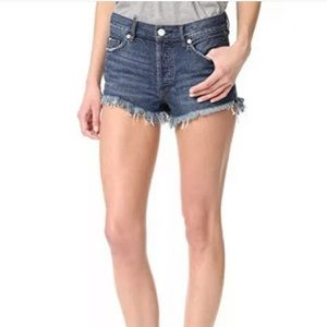 We The Free   Button Fly cut off denim Jean Shorts